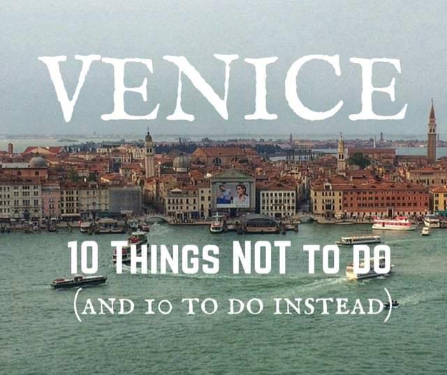 Alternative venice things to do in venice